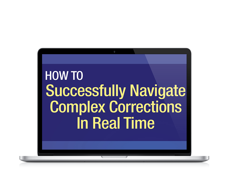 How to Successfully Navigate Complex Corrections in Real Time