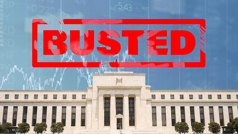 Разрушенный миф: «ФРС контролирует экономику» и «Управляет рынками» (перевод с elliottwave com)