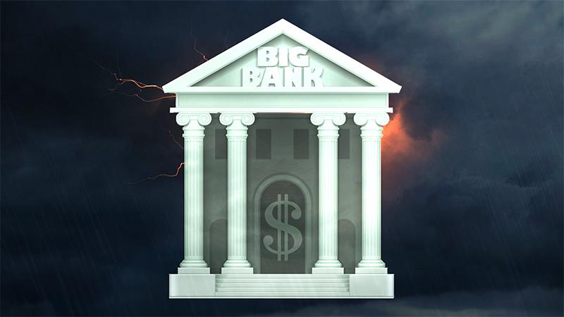 Большой банк с большими проблемами: финансовый кризис 2.0? (перевод с elliottwave com)