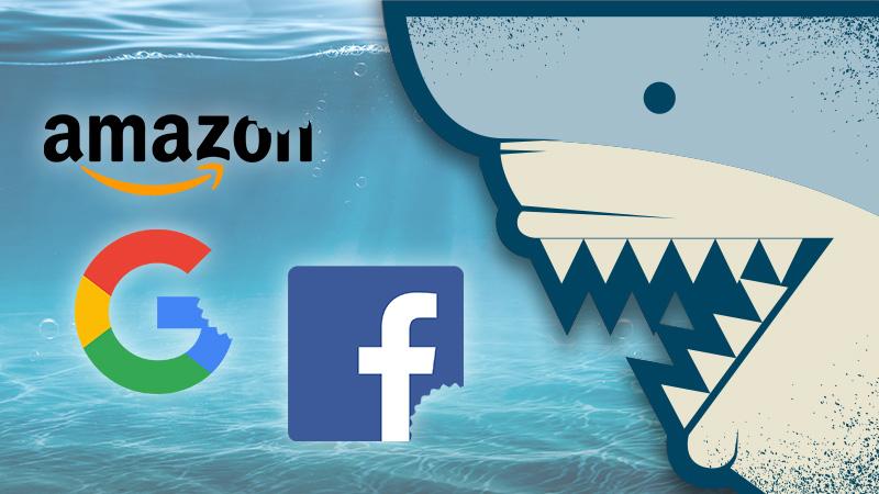 Акулы кружат вокруг крупных технологических фирм Америки (перевод с elliottwave com)